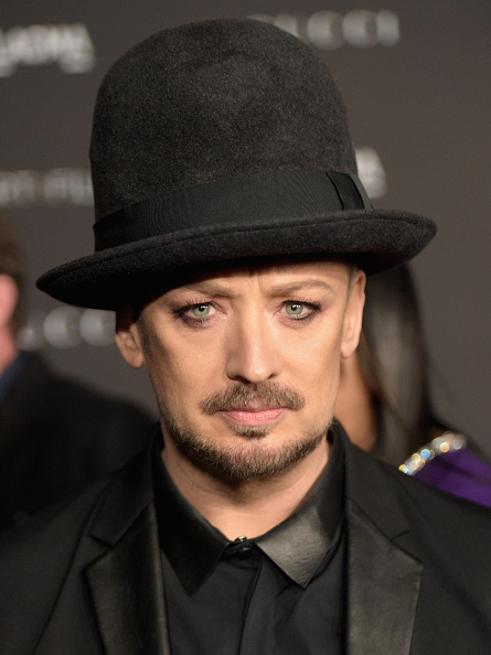 Culture Club「2014 LACMA Art + Film Gala Honoring Barbara Kruger And Quentin Tarantino Presented By Gucci - Red Carpet」:写真・画像(11)[壁紙.com]