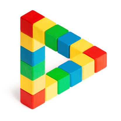 Triangle Shape「Penrose Triangle」:スマホ壁紙(10)
