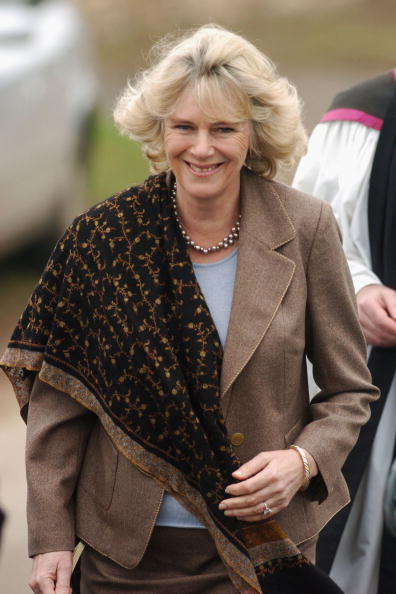 Religious Mass「Charles And Camilla Attend Palm Sunday Church Service」:写真・画像(12)[壁紙.com]