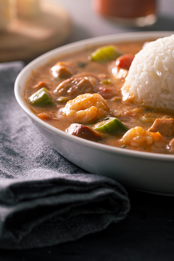Andouille「New Orleans Cajun Gumbo With Shrimp, Andouille, and Chicken」:スマホ壁紙(6)
