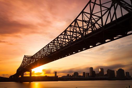 Bay Horse「New Orleans Skyline at Sunset, Louisiana, USA」:スマホ壁紙(17)