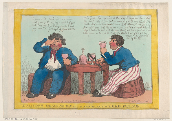 Drinking Glass「A Sailors Observation On The Lamented Death Of Lord Nelson,」:写真・画像(11)[壁紙.com]