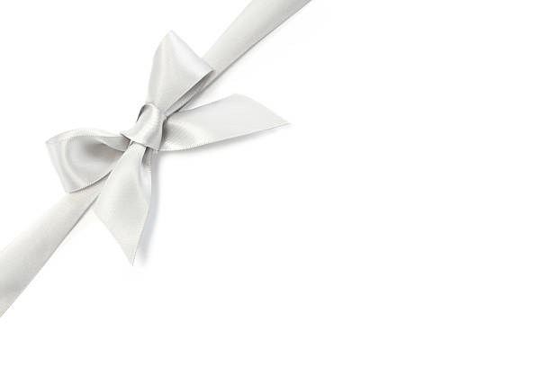 Silver Ribbon Bow:スマホ壁紙(壁紙.com)