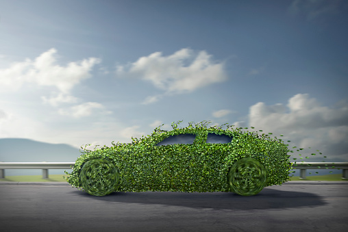 Sustainable Resources「Car covered in growing plants」:スマホ壁紙(17)