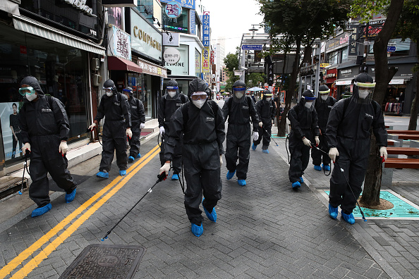 Infectious Disease「Markets Disinfected Ahead Of Chuseok Holiday In South Korea」:写真・画像(14)[壁紙.com]