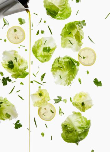 Pouring「Lettuce, Lemon, and Oil Dressing Pour」:スマホ壁紙(17)