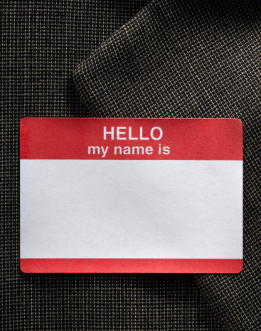 Individuality「Blank name badge on dress jacket 」:スマホ壁紙(12)