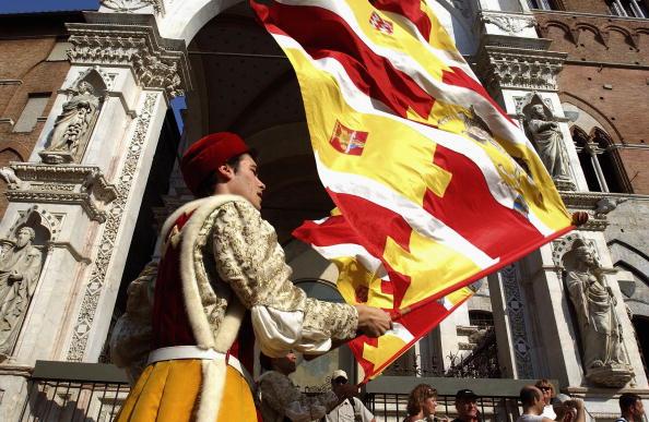 Siena - Italy「Siena's Contrade Prepare For Annual Palio Horserace」:写真・画像(1)[壁紙.com]