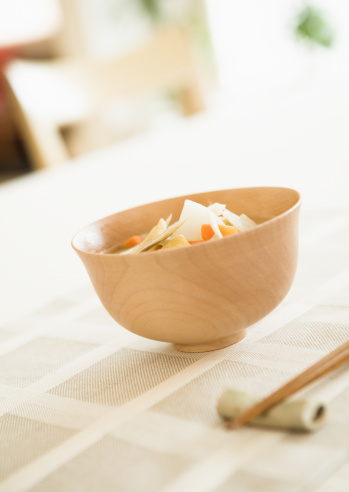 Dining Table「Bowl of Miso Soup」:スマホ壁紙(6)