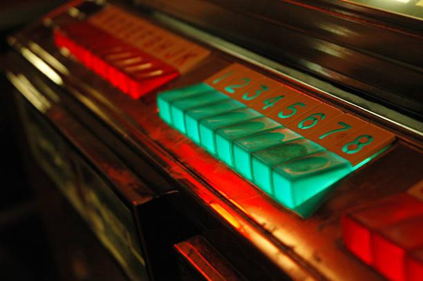 Vintage Jukebox Buttons:スマホ壁紙(壁紙.com)