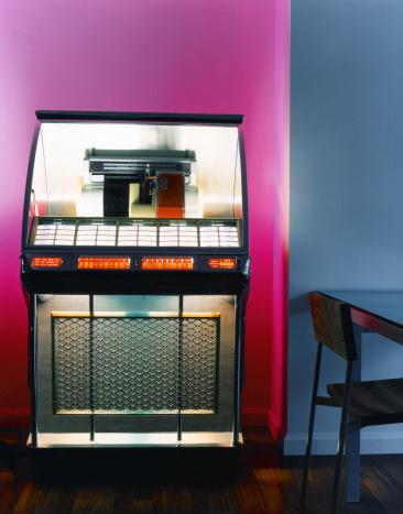 Rock Music「Vintage jukebox」:スマホ壁紙(17)