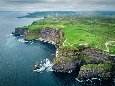 Cliff「Cliffs of Moher Ireland Wild Atlantic Way」:スマホ壁紙(17)