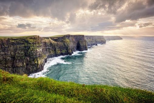 Coastal Feature「Cliffs of Moher, Ireland」:スマホ壁紙(12)