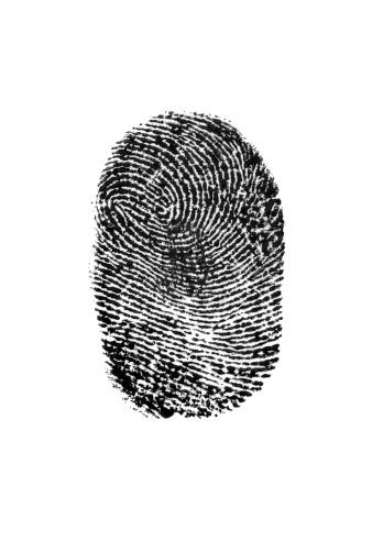 Intricacy「Fingerprint on white background」:スマホ壁紙(14)