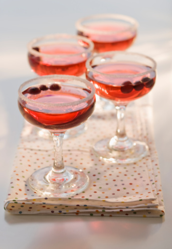 Napkin「Cranberry cocktails, close-up」:スマホ壁紙(18)