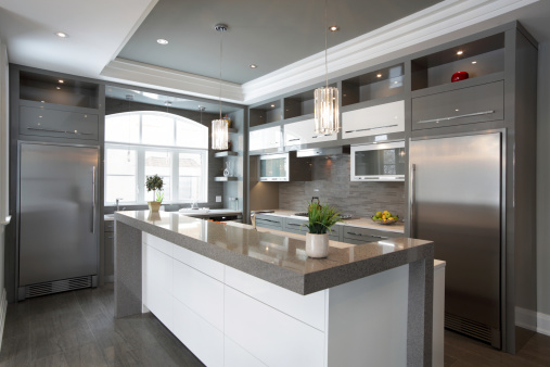 Horizontal「Luxury Kitchen」:スマホ壁紙(9)