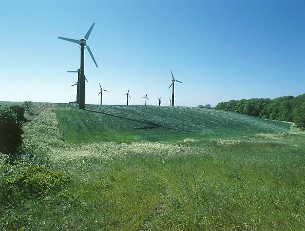 自然・風景「Wind turbines.」:写真・画像(9)[壁紙.com]