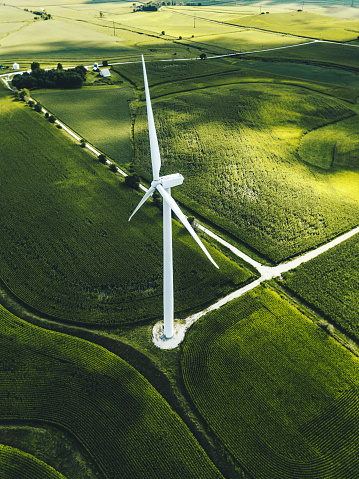 Wind Turbine「wind turbine in iowa」:スマホ壁紙(12)