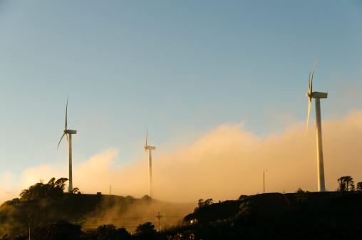 Blade「Wind turbines in the early morning」:スマホ壁紙(11)