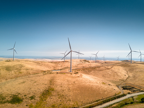 Wind Turbine「wind turbine in california」:スマホ壁紙(8)