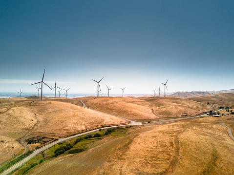Sustainable Lifestyle「wind turbine in california」:スマホ壁紙(17)