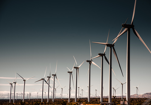 Mill「wind turbine in california」:スマホ壁紙(3)