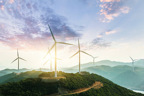 Wind Turbine:スマホ壁紙(壁紙.com)