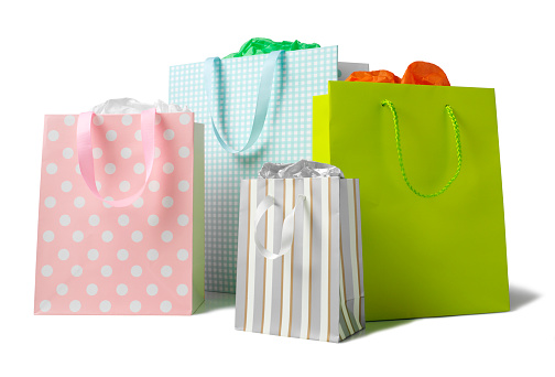 Retail「Multi Coloured Paper Carrier Bags」:スマホ壁紙(3)