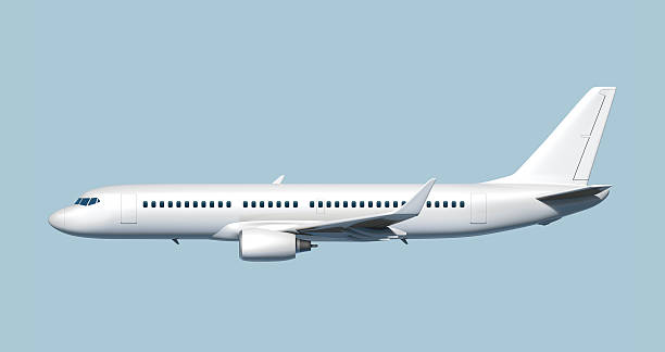 Side of passenger jet airplane - easy to cut out.:スマホ壁紙(壁紙.com)