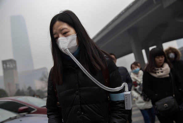 Pollution「Beijing Issues Red Alert On Air Pollution For The First Time」:写真・画像(6)[壁紙.com]
