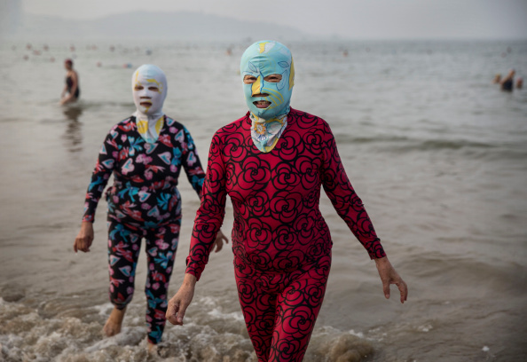 ヒューマンインタレスト「China's Face-kini Becomes Unlikely Global Fashion Hit」:写真・画像(3)[壁紙.com]