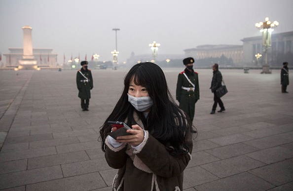 Telephone「Beijing Issues Red Alert On Air Pollution For The First Time」:写真・画像(11)[壁紙.com]