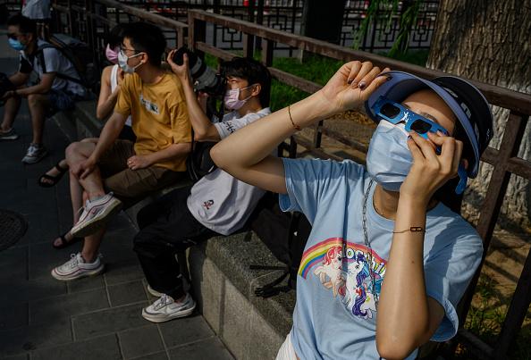 Annular Solar Eclipse「Annular Eclipse In China」:写真・画像(3)[壁紙.com]