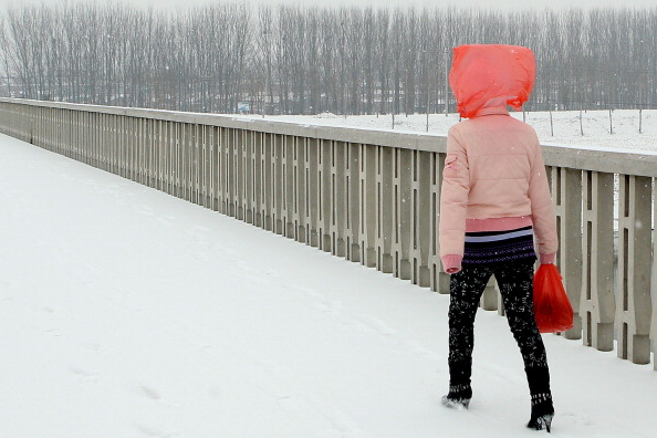 Lintao Zhang「Snow Fall Begins In Beijing」:写真・画像(2)[壁紙.com]