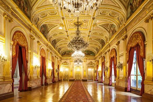 Royalty「La Galerie des Fetes in the Assemblee Nationale」:スマホ壁紙(1)