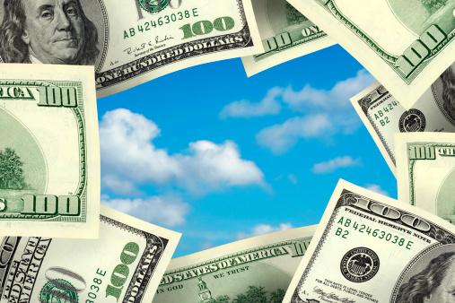 Economic fortune「business concept money frame」:スマホ壁紙(19)