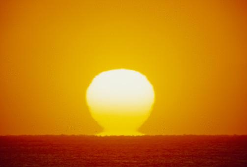 里山「Morning Sun」:スマホ壁紙(4)