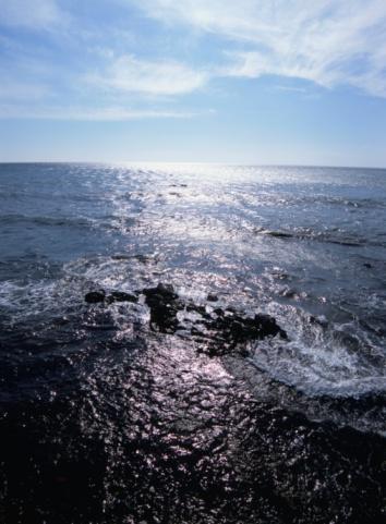 Wakkanai「Morning Sun and Reflection on Sea Surface」:スマホ壁紙(3)