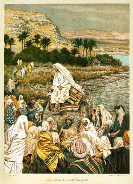 Water's Edge「Jesus Teaching on the Sea Shore - St Mark」:写真・画像(15)[壁紙.com]