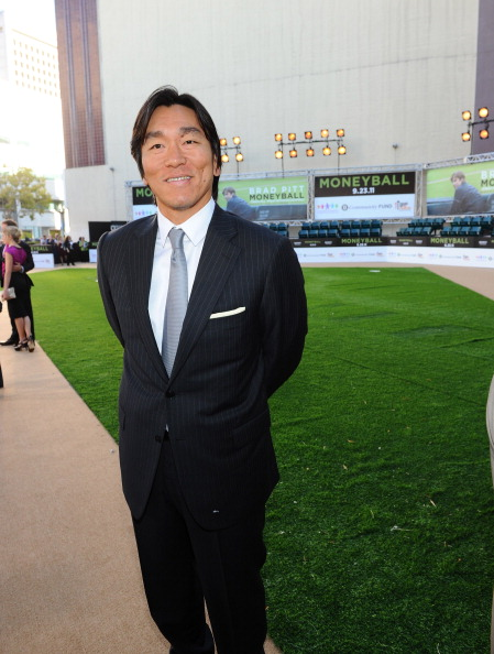 松井 秀喜「Premiere Of Columbia Pictures' 'Moneyball' - Red Carpet」:写真・画像(6)[壁紙.com]