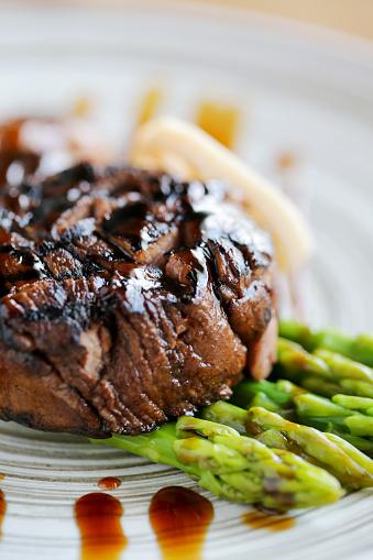 Asparagus「Grilled steak」:スマホ壁紙(16)