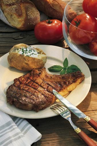Baked Potato「Grilled steak and baked potato」:スマホ壁紙(3)