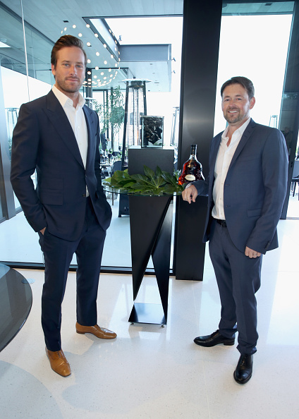 Armie Hammer「Hennessy X.O Partners With Paul McClean For Intimate Dinner Hosted By Armie Hammer」:写真・画像(1)[壁紙.com]