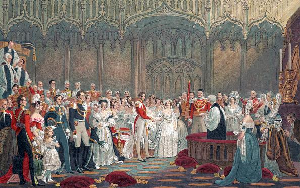 結婚「Queen Victoria of England - Her Majesty 's wedding to Prince Albert in 1840.」:写真・画像(16)[壁紙.com]