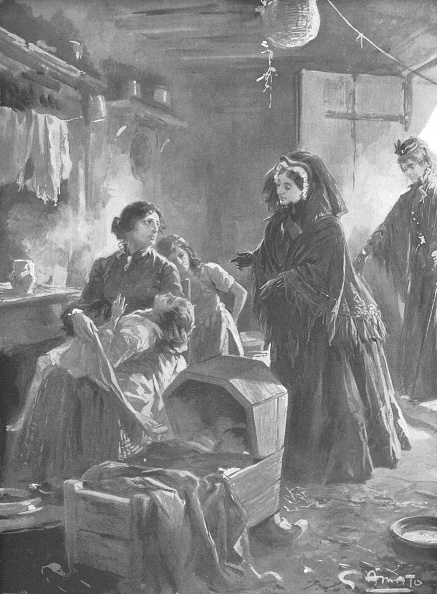 Alexandra Queen「Queen Victoria And The Poor: Her Majesty Visiting A Cottage Home」:写真・画像(16)[壁紙.com]