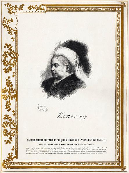Writing「Queen Victoria of England - Diamond Jubilee portrait of Her Majesty in 1897.」:写真・画像(10)[壁紙.com]