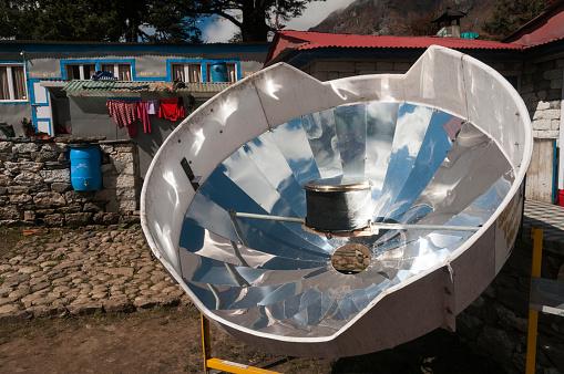 Solu Khumbu「Solar cooker」:スマホ壁紙(12)