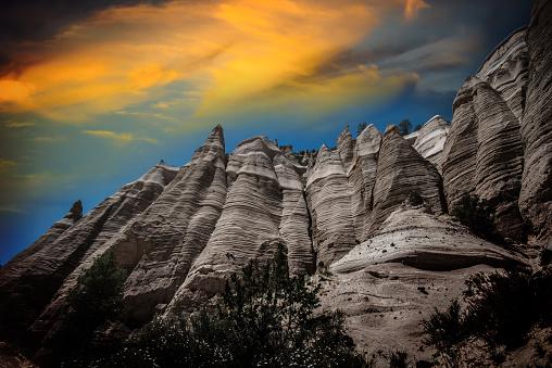 Santa Fe - New Mexico「Kasha-Katuwe Tent Rocks National Monument, New Mexico」:スマホ壁紙(5)