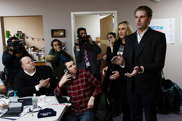 Volunteer「Eric Trump Joins Volunteers At Trump NH HQ To Get Out The Vote On Primary Day」:写真・画像(2)[壁紙.com]