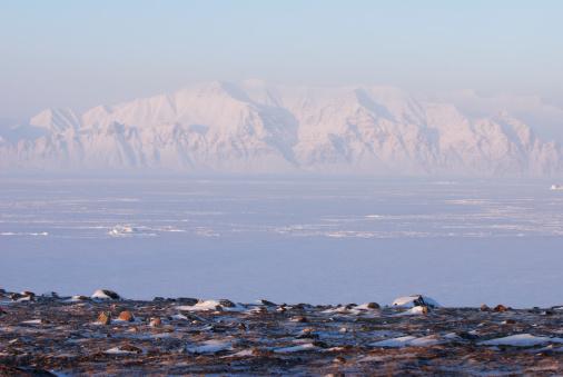 北極「Bylot 島からバフィン島です。」:スマホ壁紙(11)